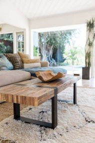 🌟🌟🌟🌟🌟ارتفاع مناسب میز جلو مبلی چوبی