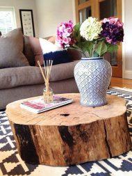 🌟🌟🌟🌟🌟خرید میز مقابل مبل با تنه درخت