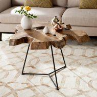 🌟🌟🌟🌟🌟خرید میز جلو مبلی چوبی ایتالیایی
