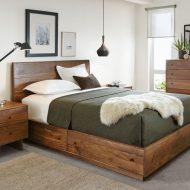 خرید ست تخت خواب چوب گردو