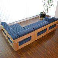 خرید مبل چوبی 5 نفره