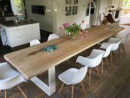 50 مدل میز ناهار خوری چوبی