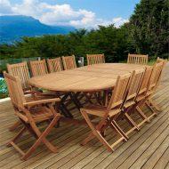 🌟🌟🌟🌟🌟خرید میز و صندلی ناهار خوری 12 نفره چوبی