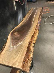 سفارش ساخت لوکس ترین میز جلو مبلی چوبی