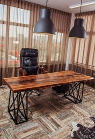 🌟🌟🌟🌟🌟میز کار چوبی برای دفتر خانگی