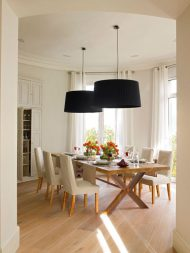 🌟🌟🌟🌟🌟مدل های جدید میز ناهار خوری 6 نفره با چوب مدرن