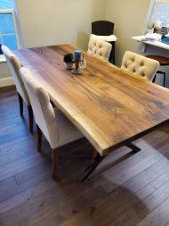🌟🌟🌟🌟🌟خرید میز ناهار خوری 4 نفره با چوب گردو