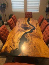 🌟🌟🌟🌟🌟چیدمان خانه با میز ناهار خوری چوبی 8 نفره